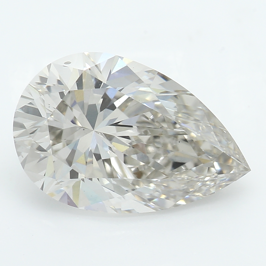 2.05 Carat J-VS2 Ideal Pear Diamond