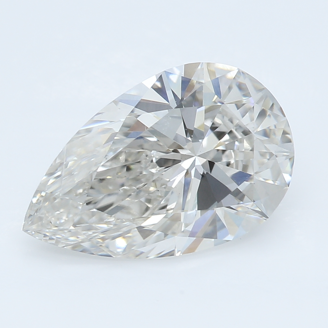2.26 Carat I-VS1 Ideal Pear Diamond