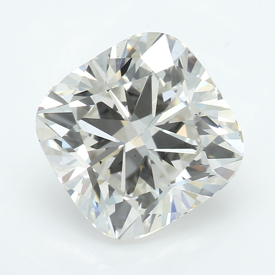 2.61 Carat I-SI1 Ideal Cushion Diamond