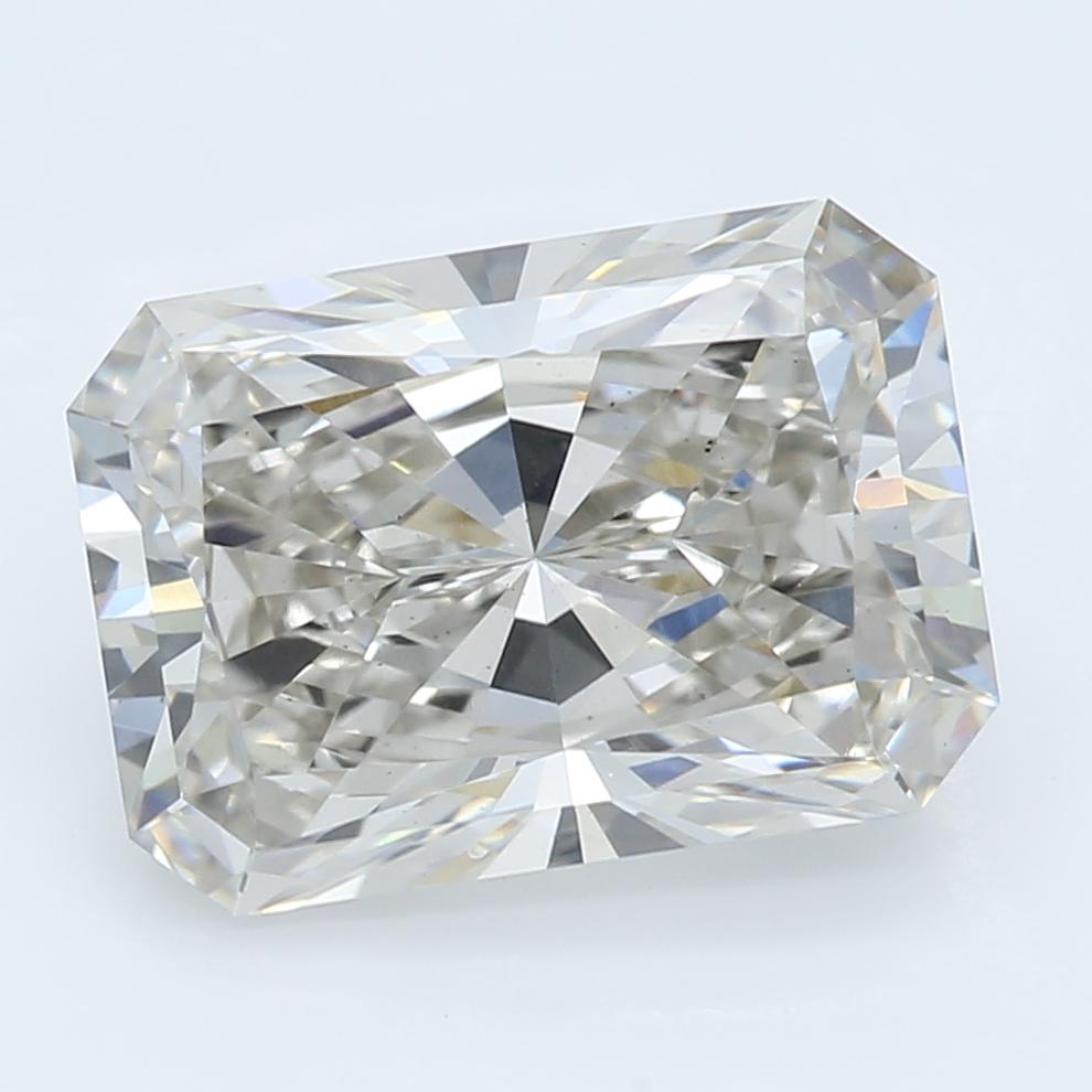 2.29 Carat I-VS1 Ideal Radiant Diamond