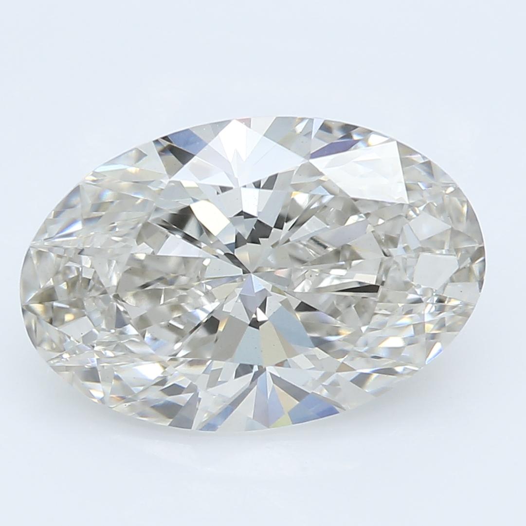 2.36 Carat I-VS1 Ideal Oval Diamond