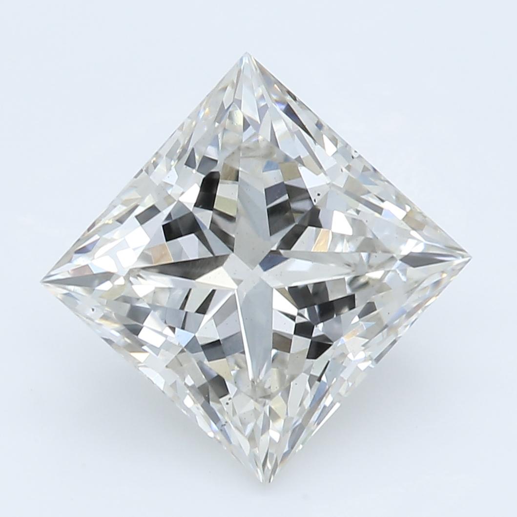 2.33 Carat I-VS2 Ideal Princess Diamond