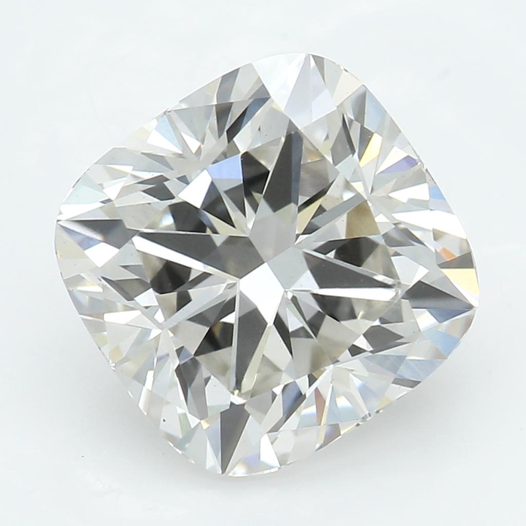 2.54 Carat I-VS1 Ideal Cushion Diamond