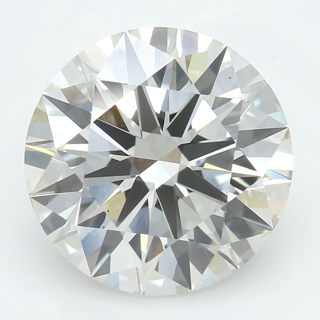 3.17 Carat J-VS1 Ideal Round Diamond
