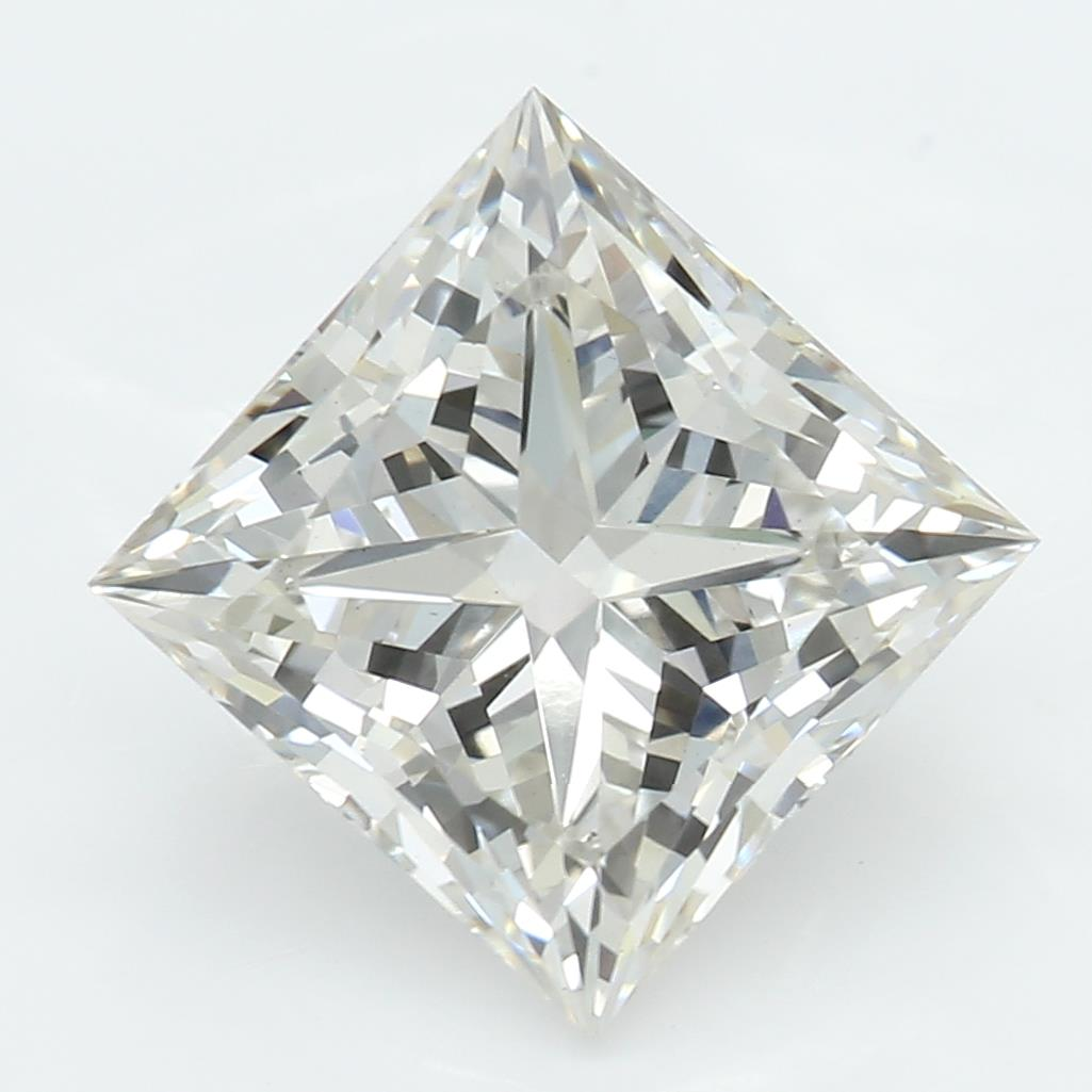 2.11 Carat J-VS1 Ideal Princess Diamond