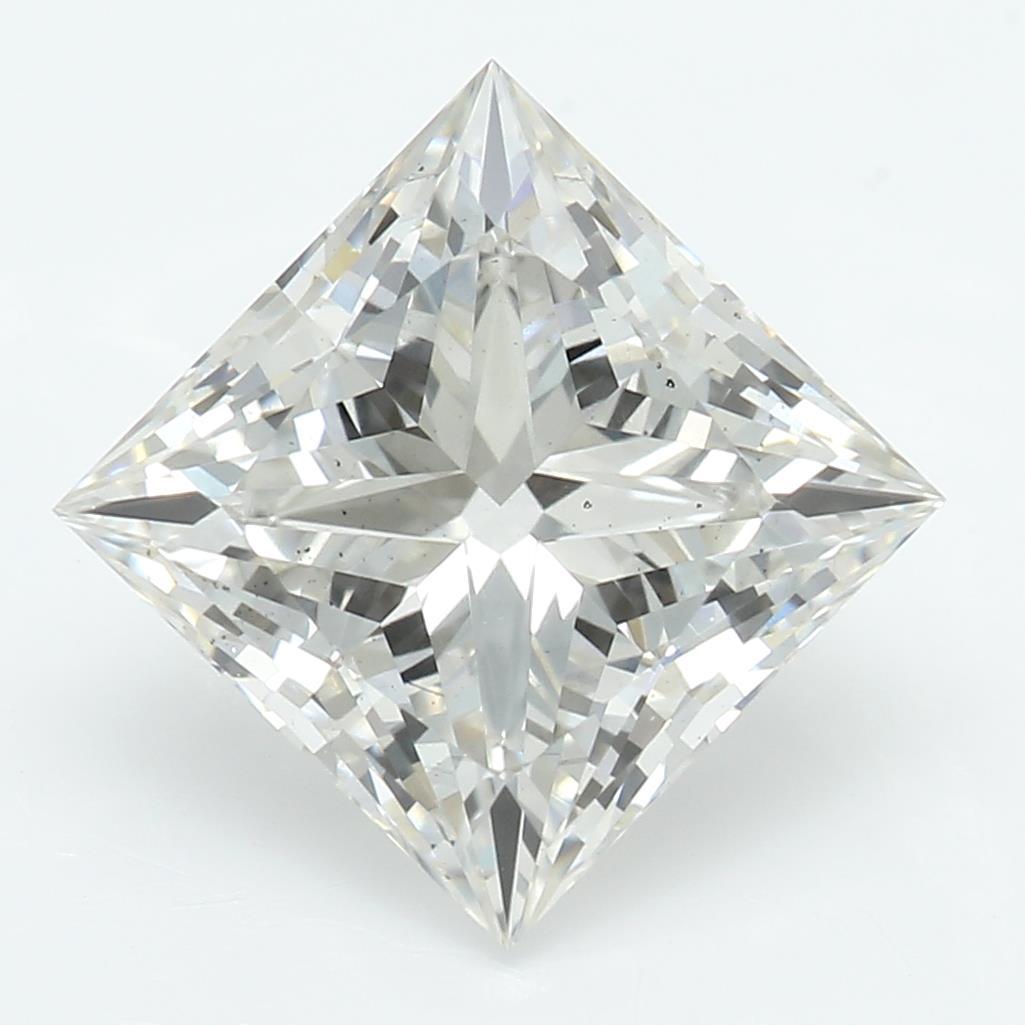 2.07 Carat I-VS2 Ideal Princess Diamond