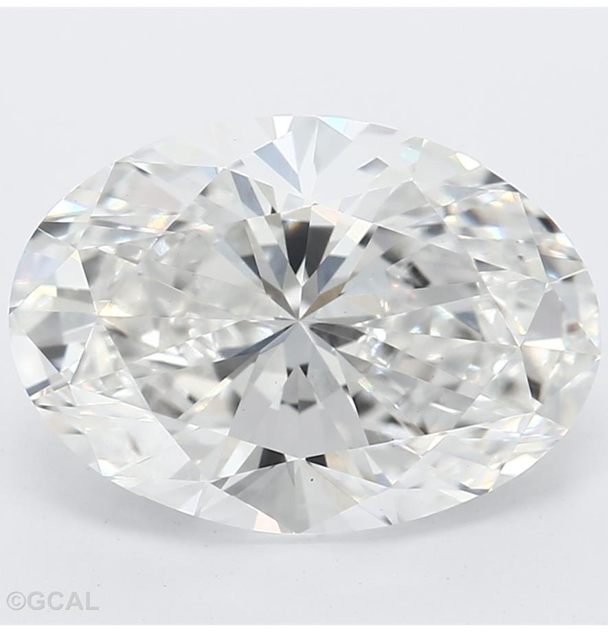 Oval Cut 2.15 Carat G Color Vs1 Clarity Sku Lg9450347