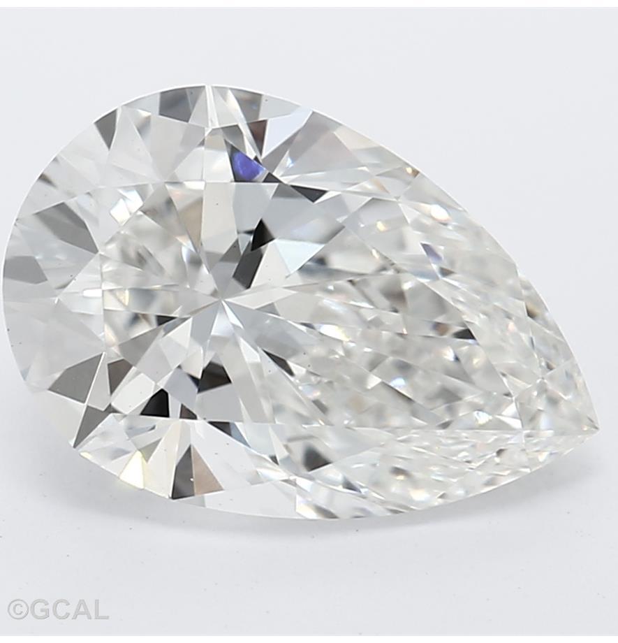 Pear Cut 1.56 Carat G Color Vs1 Clarity Sku Lg0930222