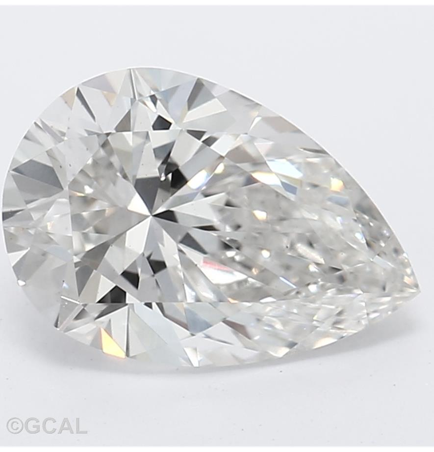 Pear Cut 1.03 Carat G Color Vs1 Clarity Sku Lg9932284