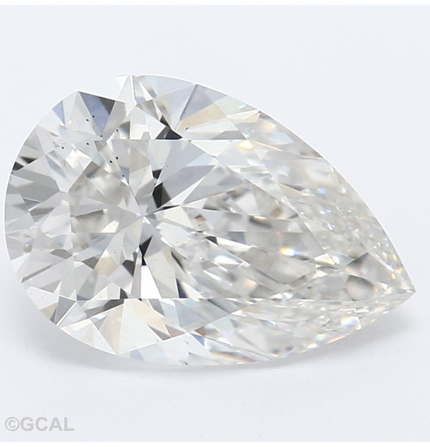 Pear Cut 1.60 Carat G Color Vs2 Clarity Sku Lg2030049