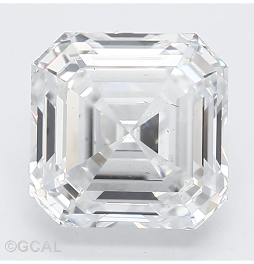 Asscher Cut 1.04 Carat E Color Si1 Clarity Sku Lg2031076