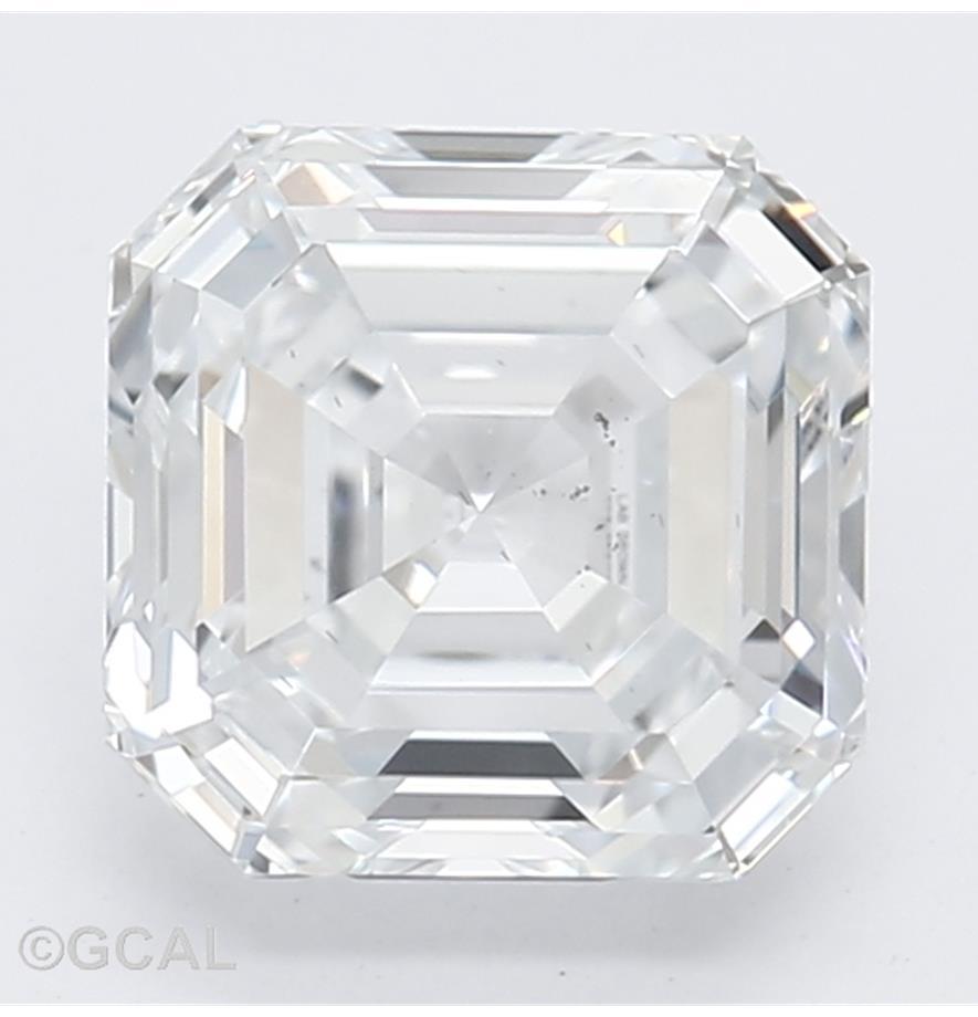 Asscher Cut 1.04 Carat F Color Si1 Clarity Sku Lg9031077