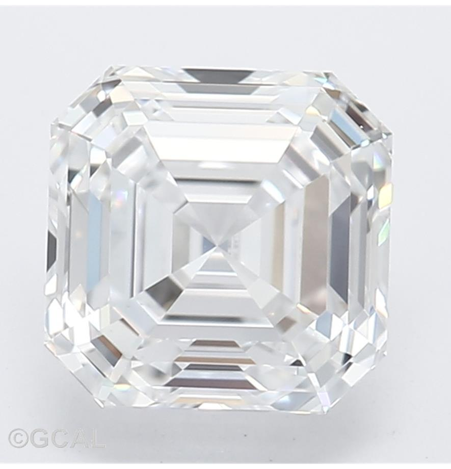 1.12-Carat Lab Created Ideally Cut Asscher Diamond