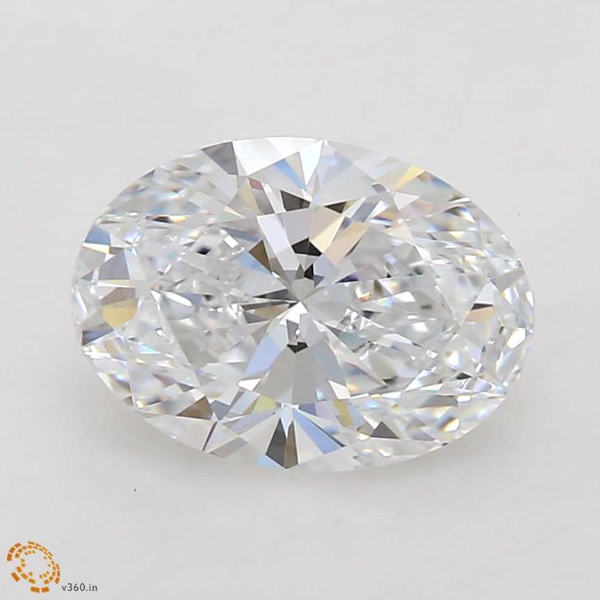 Oval Cut 1.06 Carat E Color Vvs2 Clarity Sku Lg8447112