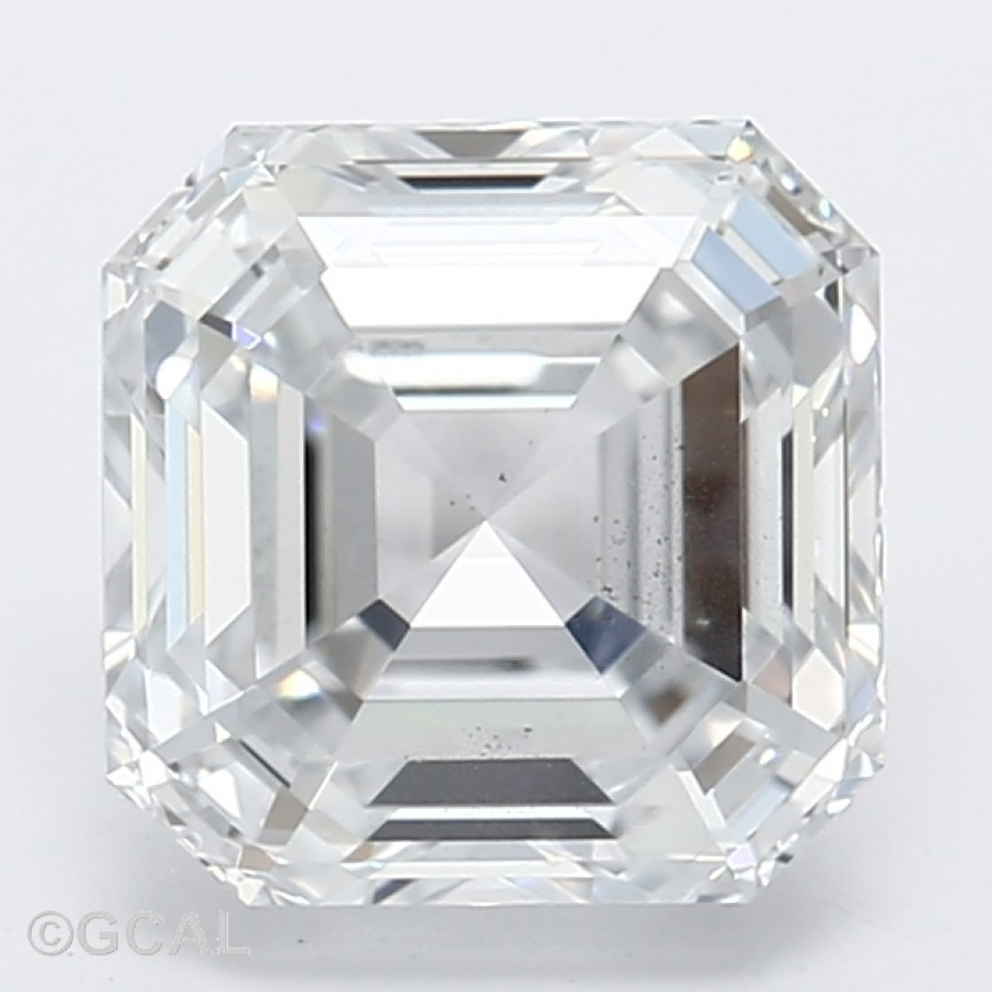 Asscher Cut 1.06 Carat H Color Si1 Clarity Sku Lg5130645