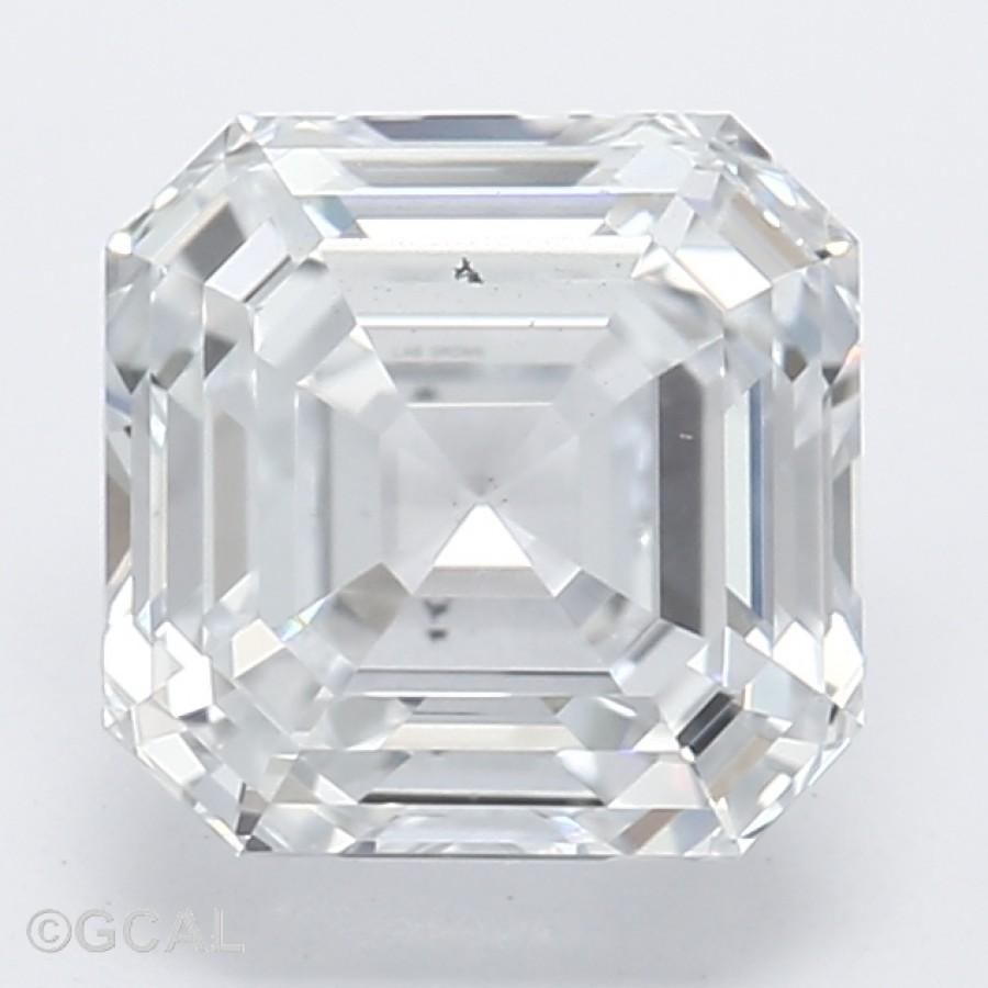 Asscher Cut 1.07 Carat H Color Si1 Clarity Sku Lg8430953