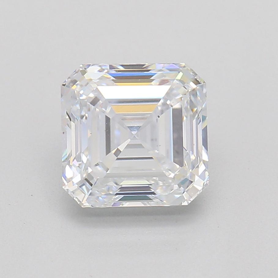 Asscher Cut 1.01 Carat F Color Si1 Clarity Sku Lg7431932