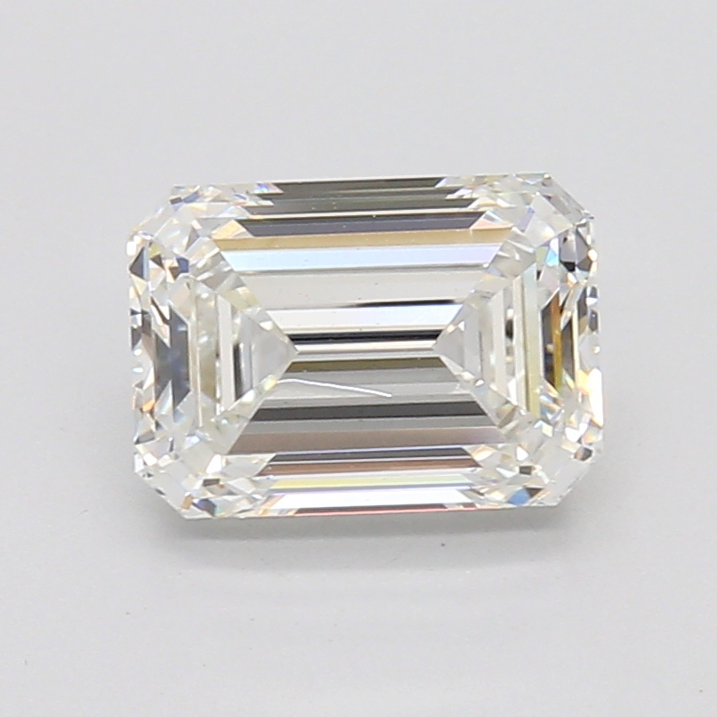 Emerald Cut 2.12 Carat H Color Vs1 Clarity Sku Lg60141442