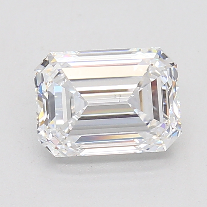 Emerald Cut 1.50 Carat D Color Si1 Clarity Sku Lg4192721