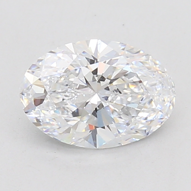Oval Cut 1.09 Carat D Color Si1 Clarity Sku Lg7135005