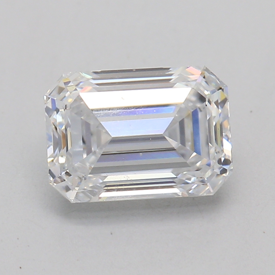Emerald Cut 0.92 Carat D Color Si1 Clarity Sku Lg5134060
