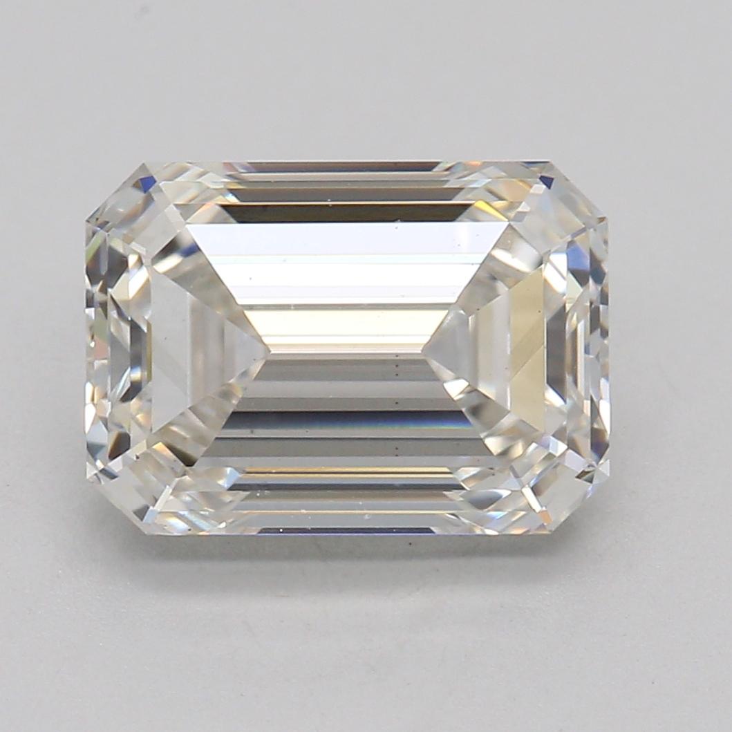 Emerald Cut 1.66 Carat I Color Vs2 Clarity Sku Lg9041706