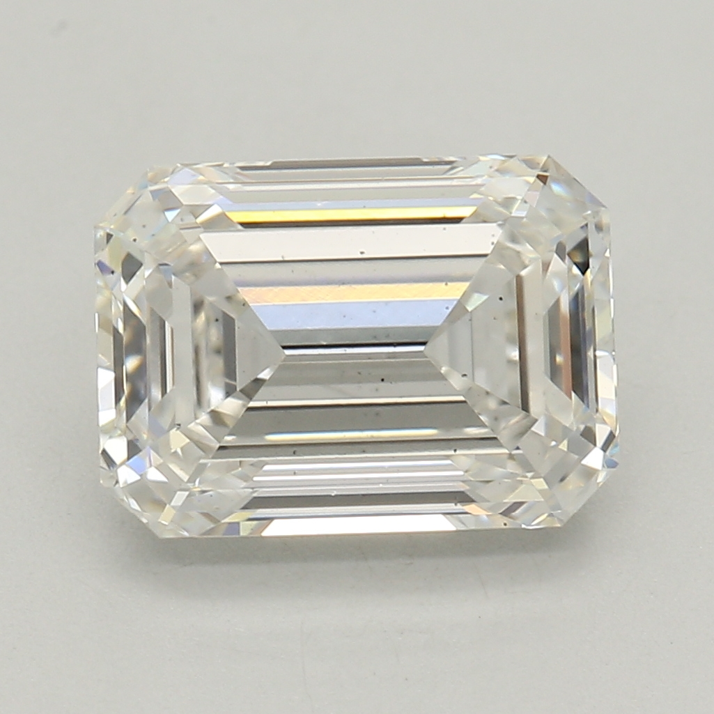 Emerald Cut 1.58 Carat I Color Si1 Clarity Sku Lg4039549