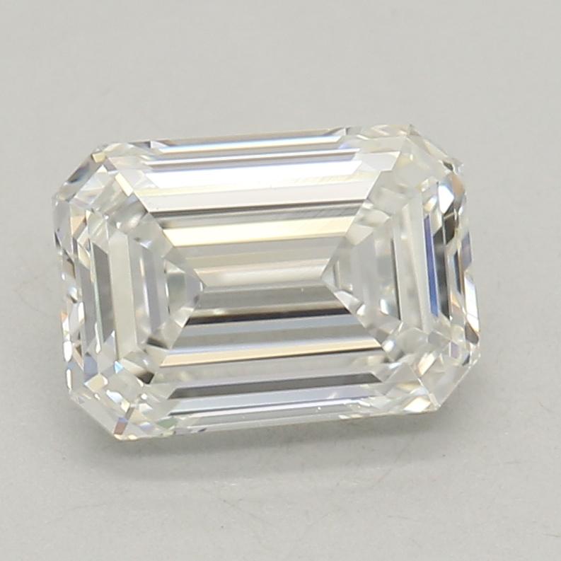 0.72-Carat Lab Created Ideally Cut Emerald Diamond