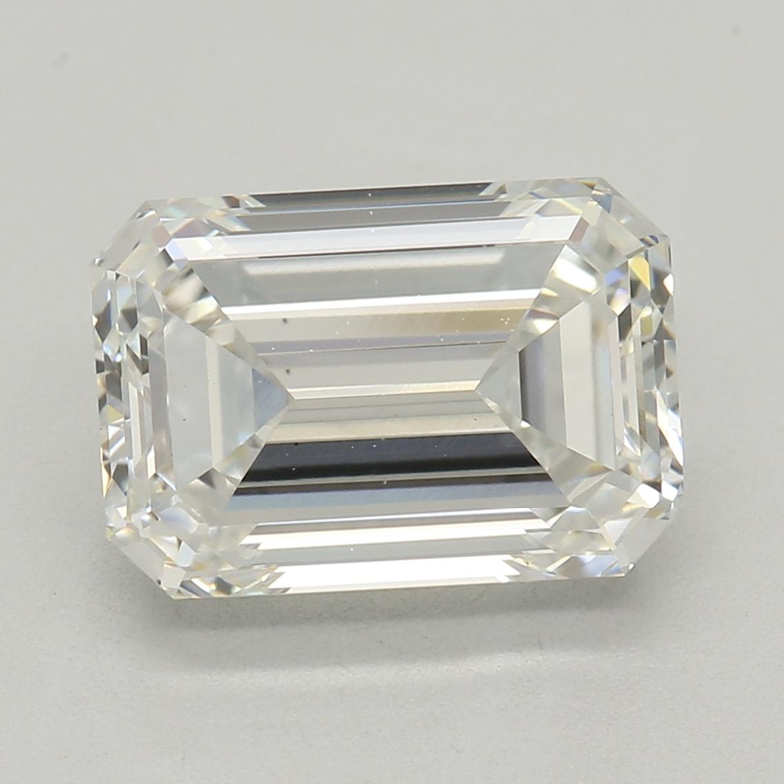Emerald Cut 2.12 Carat I Color Vs2 Clarity Sku Lg5880040