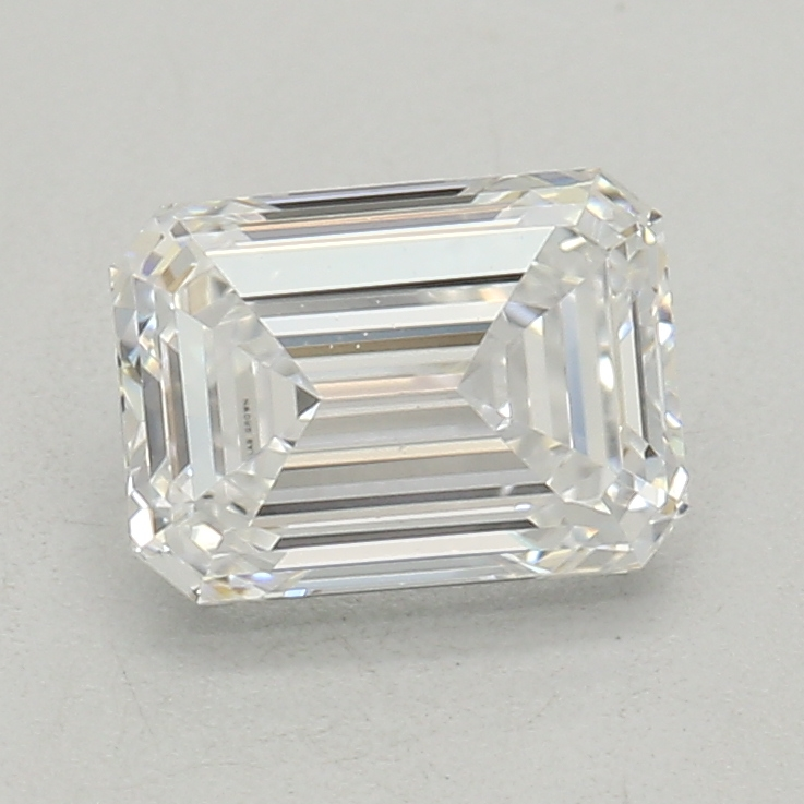 0.52-Carat Lab Created Ideally Cut Emerald Diamond