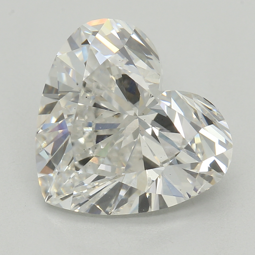 Heart Cut 2.27 Carat I Color Si1 Clarity Sku Lg47316639