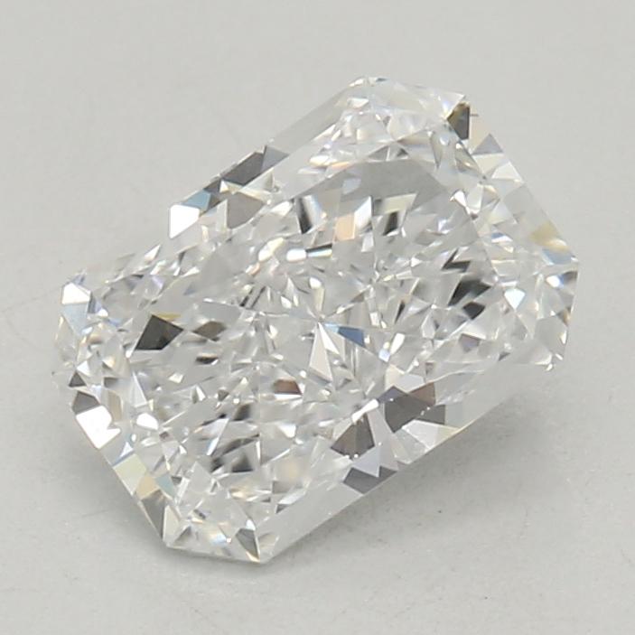 0.51-Carat Lab Created Ideally Cut Radiant Diamond