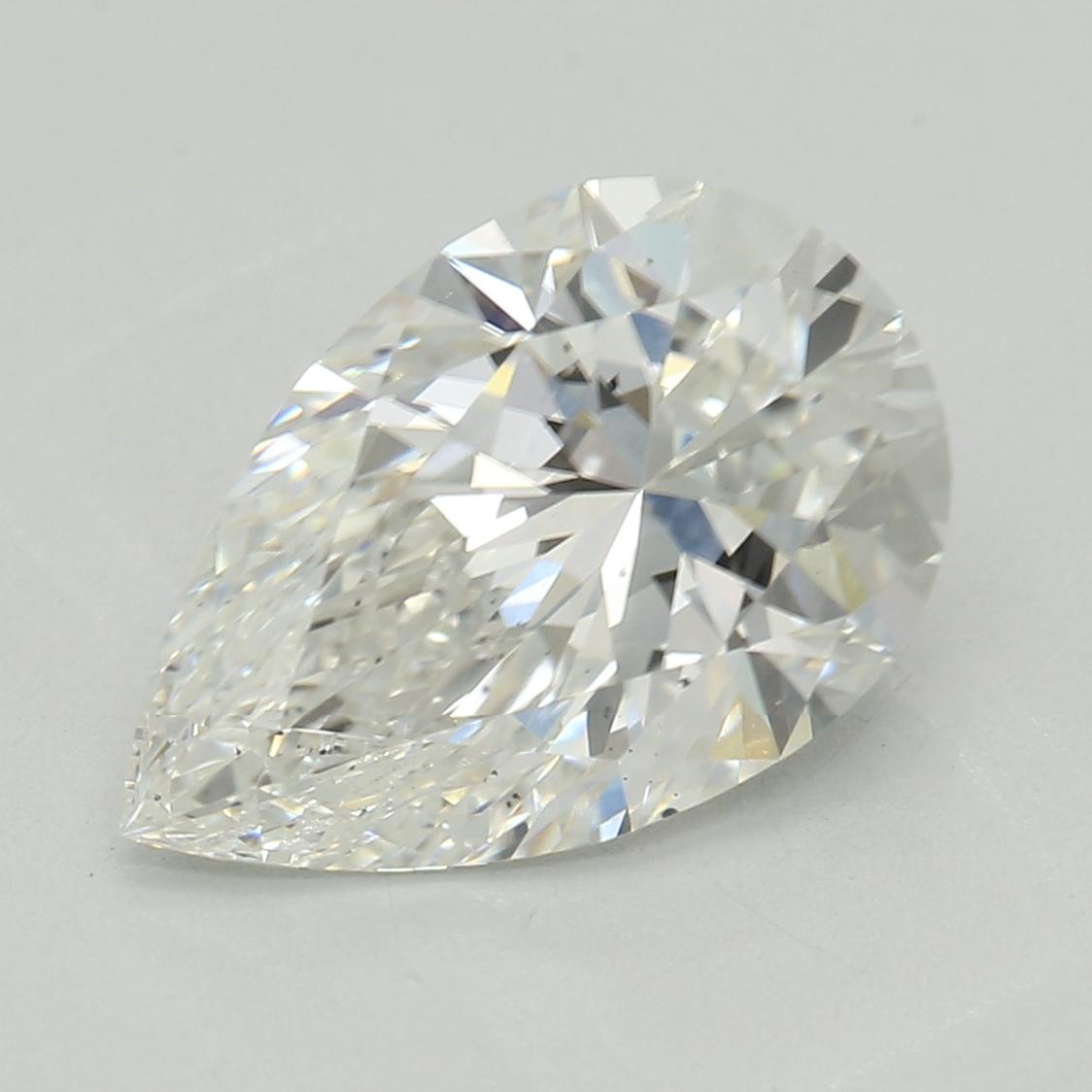 Pear Cut 1.51 Carat G Color Si1 Clarity Sku Lg9041426