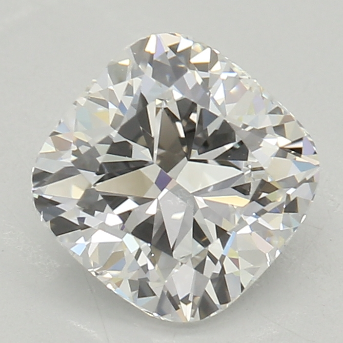 0.90-Carat Lab Created Ideally Cut Cushion Diamond