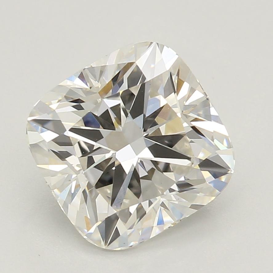 1.63-Carat Lab Created Ideally Cut Cushion Diamond