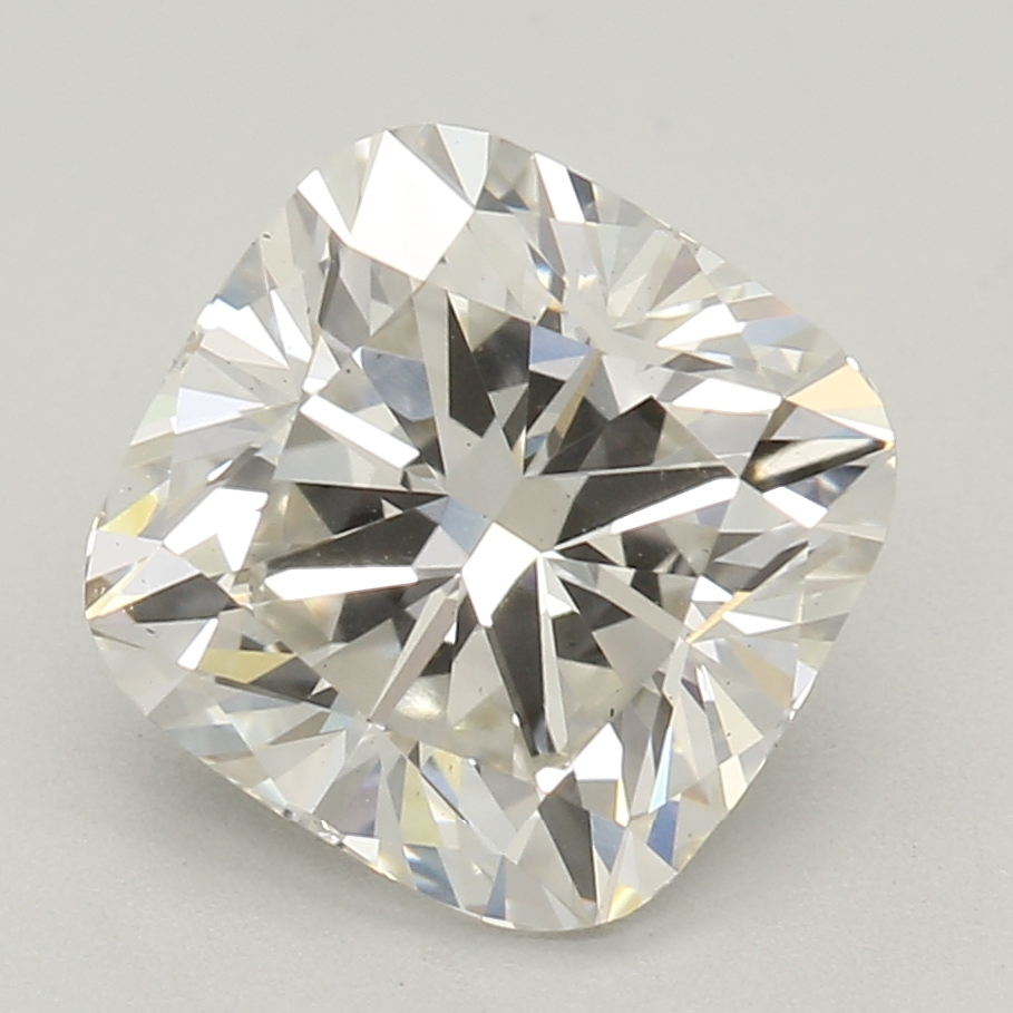 Cushion Cut 1.67 Carat I Color Vs2 Clarity Sku Lg04915309