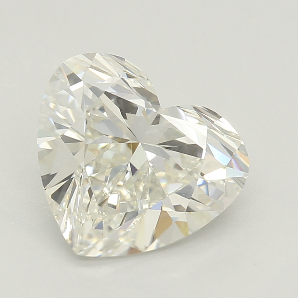 Heart Cut 1.63 Carat I Color Vvs2 Clarity Sku Lg04017498
