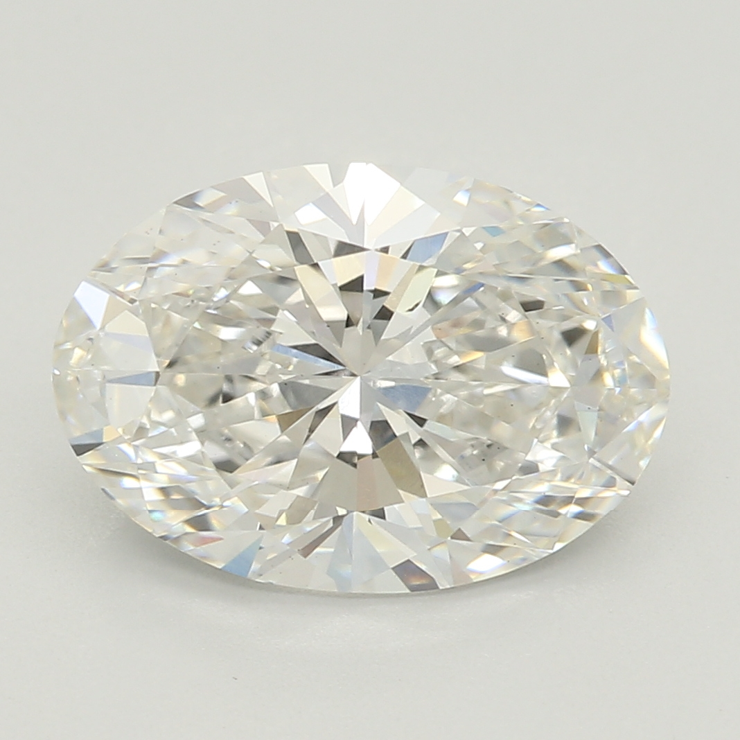 Oval Cut 2.10 Carat G Color Vs2 Clarity Sku Lg56643006