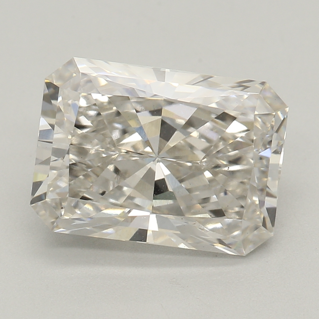 Radiant Cut 2.14 Carat H Color Vs2 Clarity Sku Lg93017397