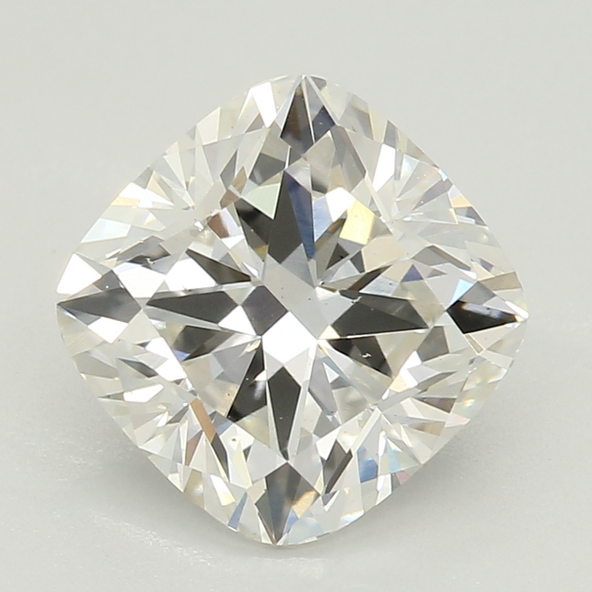 Cushion Cut 1.59 Carat I Color Vs2 Clarity Sku Lg68628971