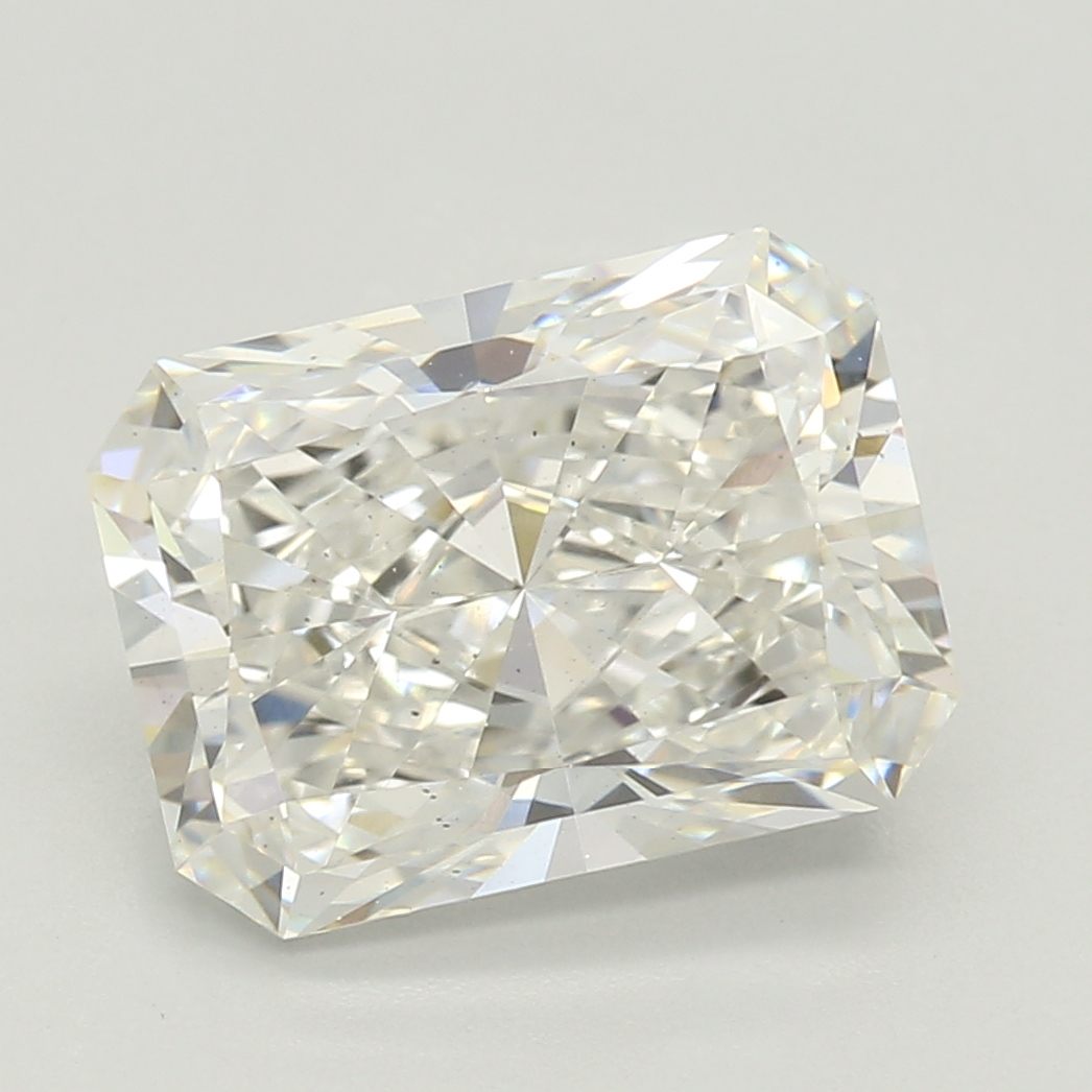 Radiant Cut 2.27 Carat H Color Vs2 Clarity Sku Lg09328898