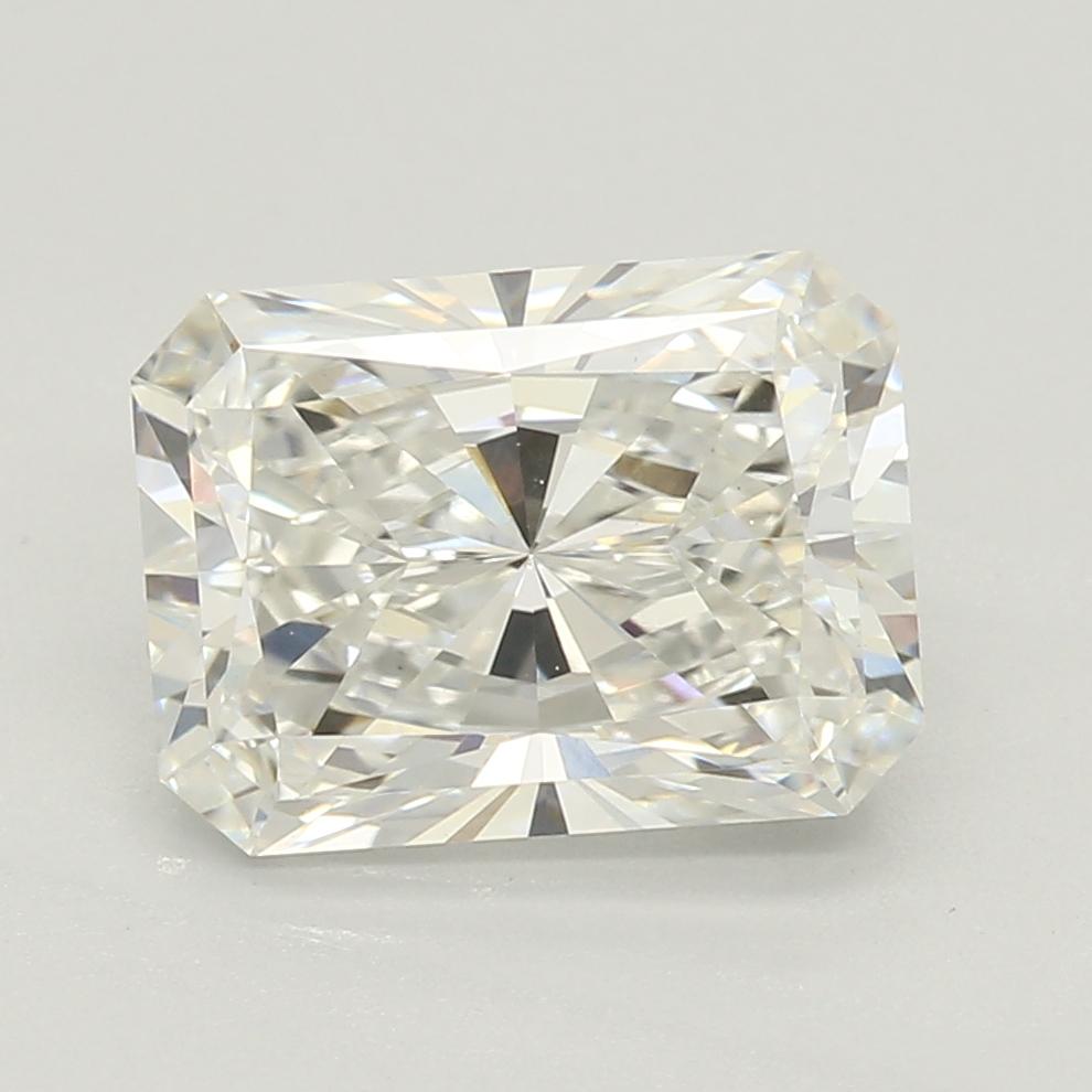 1.65-Carat Lab Created Ideally Cut Radiant Diamond