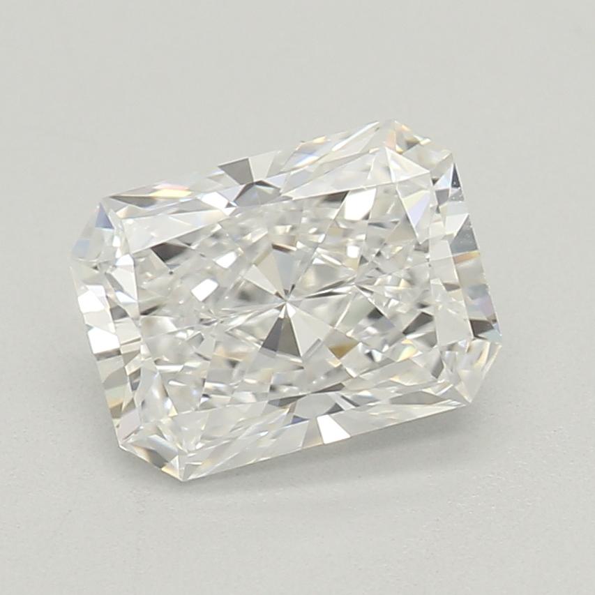 0.80-Carat Lab Created Ideally Cut Radiant Diamond