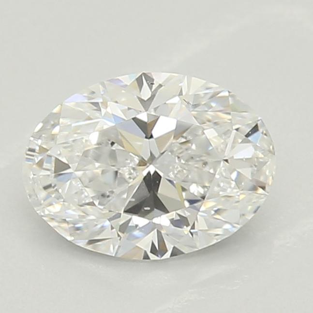 0.50-Carat Lab Created Ideally Cut Oval Diamond