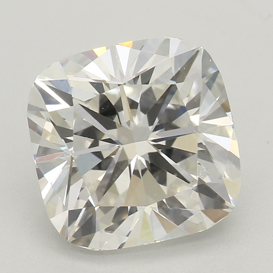 2.07 Carat H-VS2 Excellent Cushion Diamond