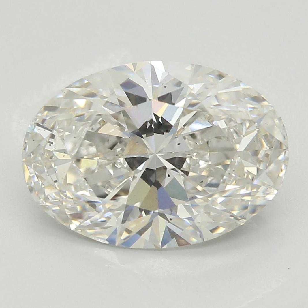 2.36 Carat H-VS2 Excellent Oval Diamond