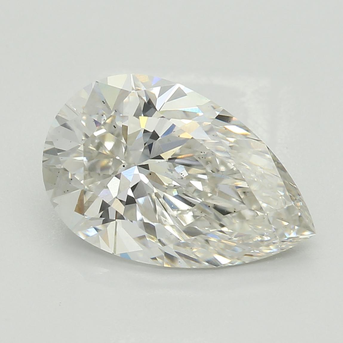 2.08 Carat I-VS2 Excellent Pear Diamond