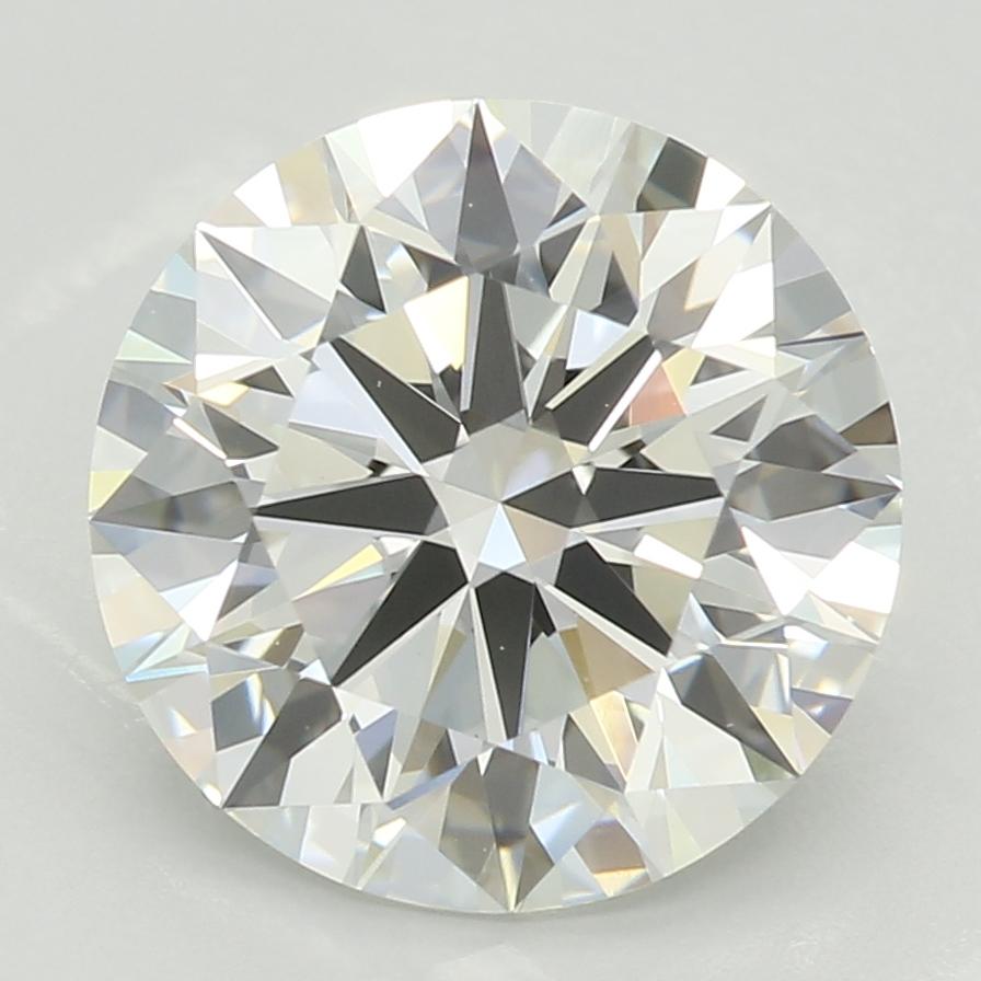 2.38 Carat H-VS1 Ideal Round Diamond