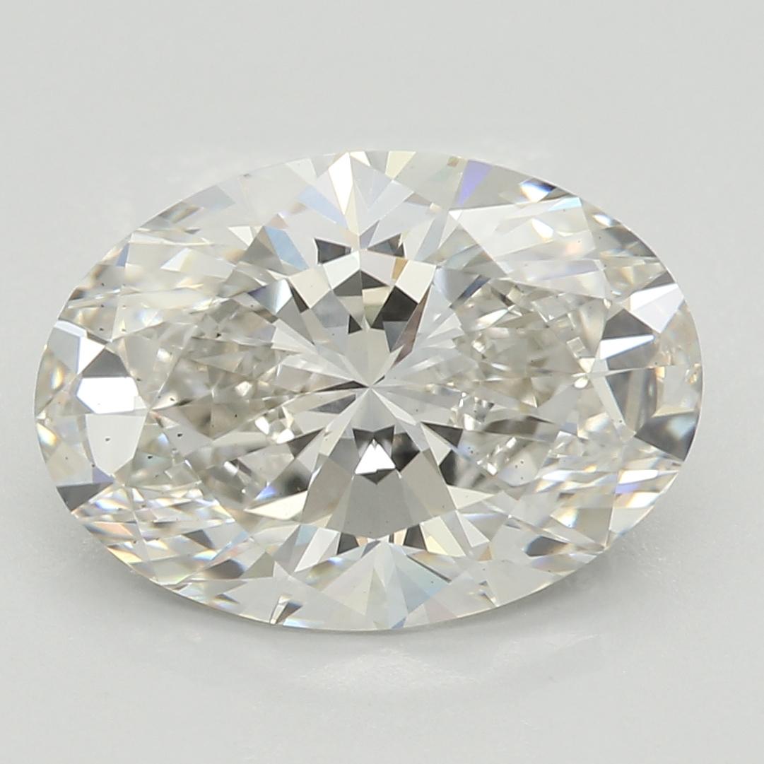 2.65 Carat I-VS2 Excellent Oval Diamond
