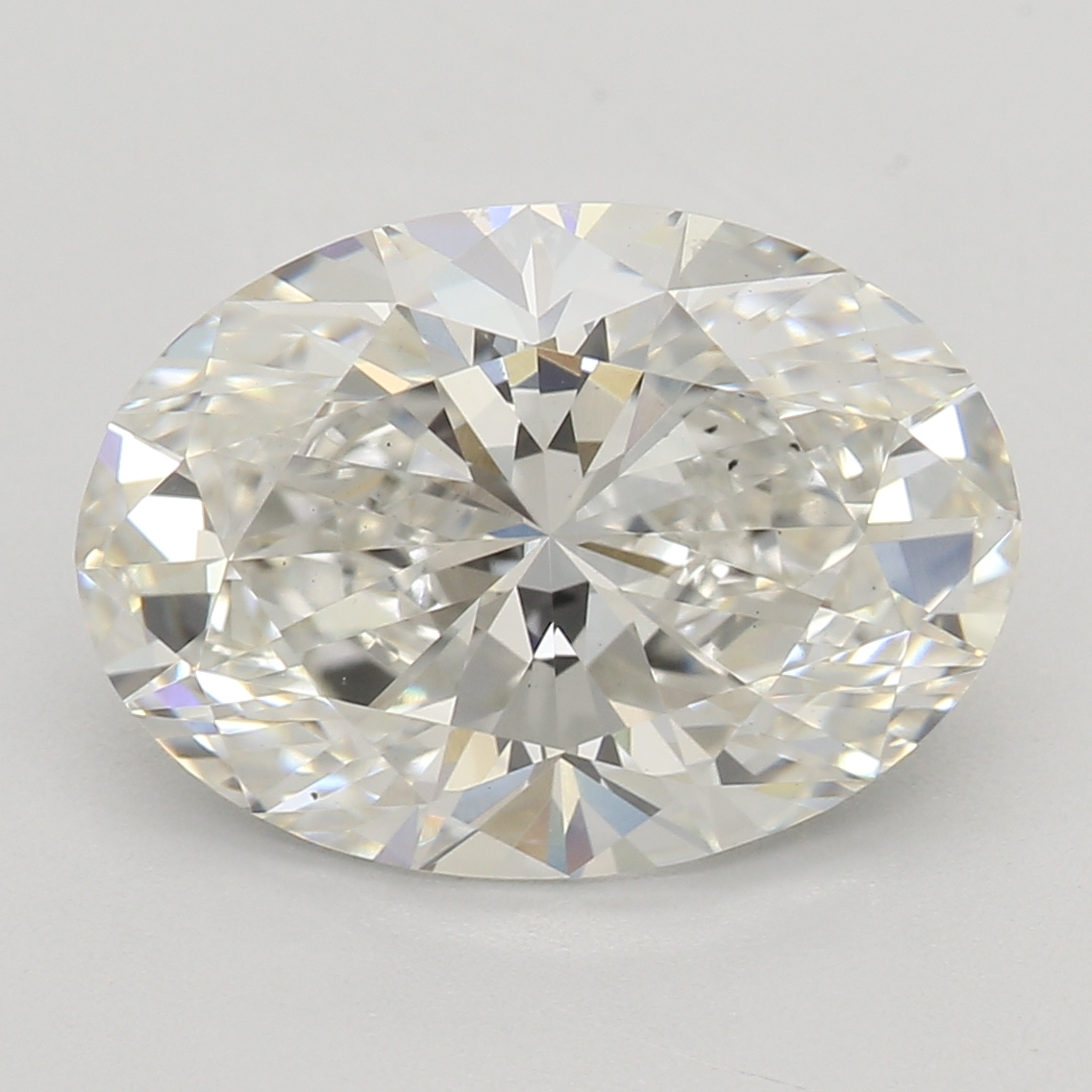 2.57 Carat I-VS2 Excellent Oval Diamond